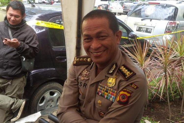 Kepala Bidang Humas Polda Jawa Barat (sekarang Kabid Humas Polda Metro Jaya) Kombes Pol Yusri Yunus.