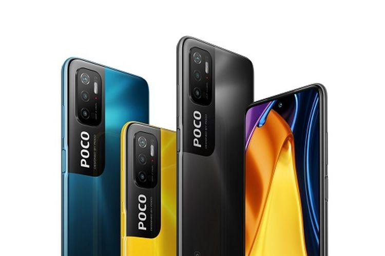 Ilustrasi Poco M3 Pro 5G.