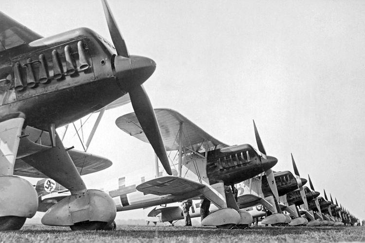 Armada pesawat Luftwaffe, Angkatan Udara milik Nazi Jerman di awal Perang Dunia II.
