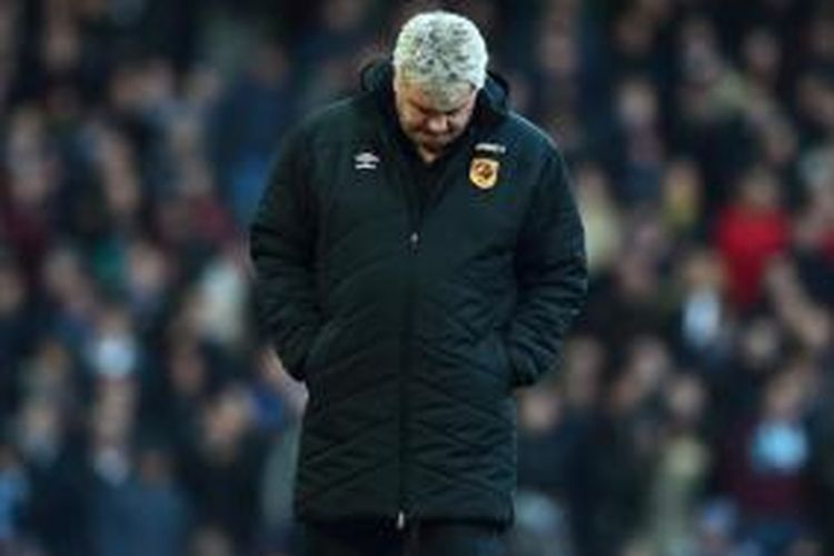 Manajer Hull City, Steve Bruce.