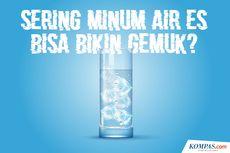 INFOGRAFIK: Mitos Sering Minum Air Es Bikin Gemuk