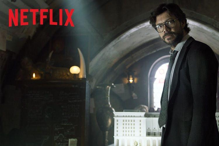 Serial Money Heist Netflix.