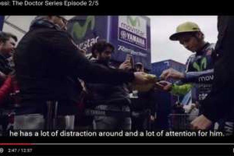 Episode kedua film pendek Valentino Rossi.
