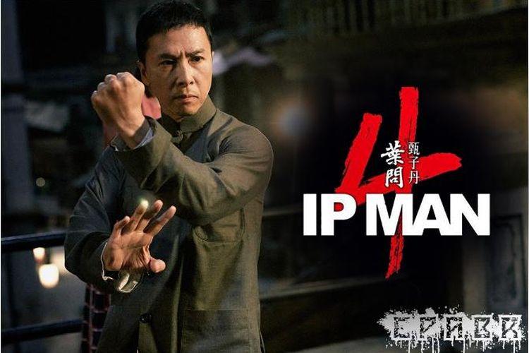 Bintang laga Donnie Yen dalam film IP Man 4: The Finale