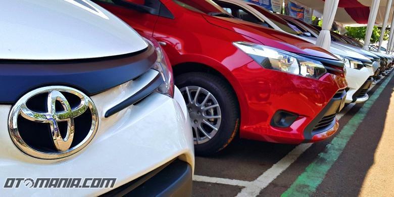 Ilustrasi penjualan Toyota