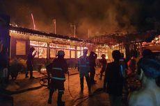 SMPN 7 Pekanbaru Ludes Terbakar, Diduga Akibat Disambar Petir