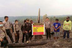 Nekat Bakar Lahan Sawit Seluas 12 Hektar, Pemilik Ditangkap Polisi