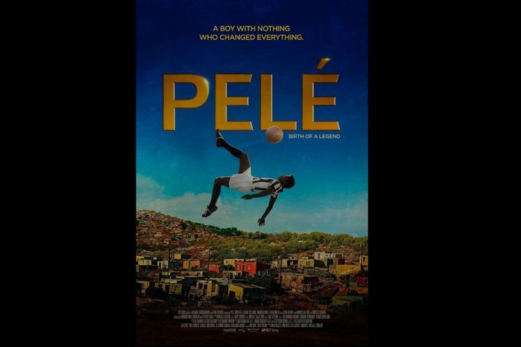 Poster film Pelé: Birth of a Legend.