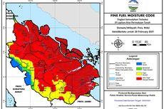 73 Titik Panas Terdeteksi di Riau, Terbanyak di Pelalawan