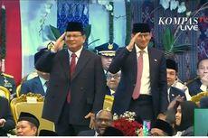 Dua Kali Prabowo Salam Hormat ke Jokowi...