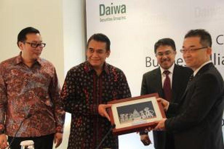 Bahana bekerja sama dengan Daiwa