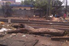 Bangunan Kumuh di Sekitar Stasiun Mangga Besar Akan Dibongkar