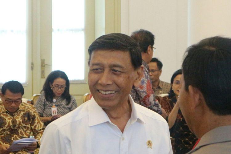 Ketua Wantimpres Wiranto menghadiri Sidang Kabinet Paripurna di Istana Bogor, Selasa (11/2/2020)