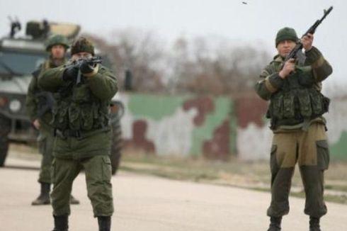 Pasukan Rusia Beri Tembakan Peringatan ke Arah Prajurit Ukraina