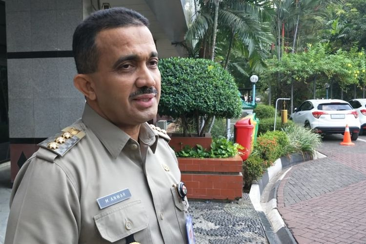 Wali Kota Jakarta Timur M Anwar kepada awak media di Kantor Wali Kota Jakarta Timur, Senin (16/9/2019).