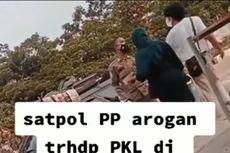 Beredar Video Anggotanya Cekcok dengan Pedagang Saat Penertiban, Kasatpol PP Bogor: Tak Ada Pemukulan