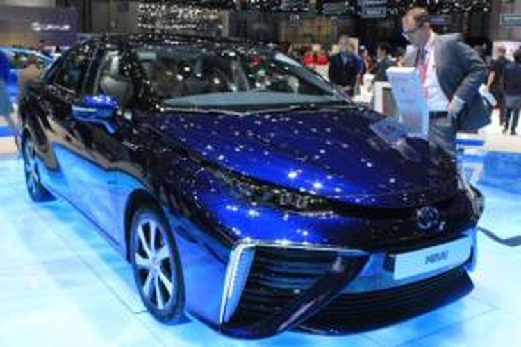 Toyota Mirai di Geneva Motor Show 2015