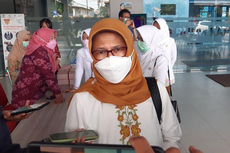 Kepala Dinas Kesehatan Solo Siti Wahyuningsih.