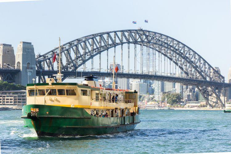 Ilustrasi Sydney Ferry.