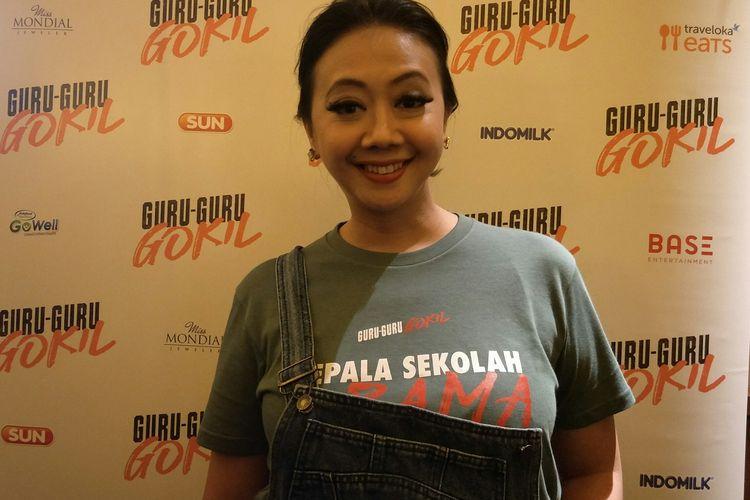 Asri Welas saat ditemui di XXI Plaza Senayan, Jakarta Pusat, Selasa (21/1/2020)