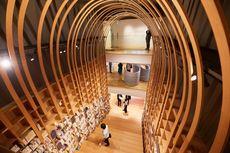 Perpustakaan untuk Murakami Dilengkapi Kafe Orange Cat