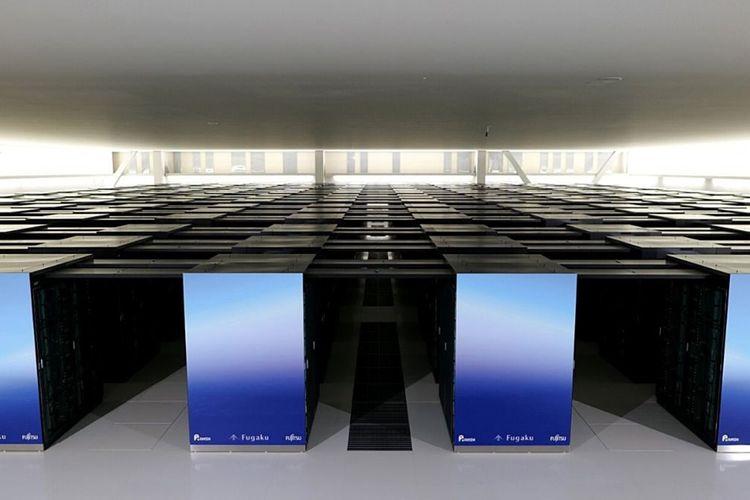 Supercomputer Fugaku asal Jepang