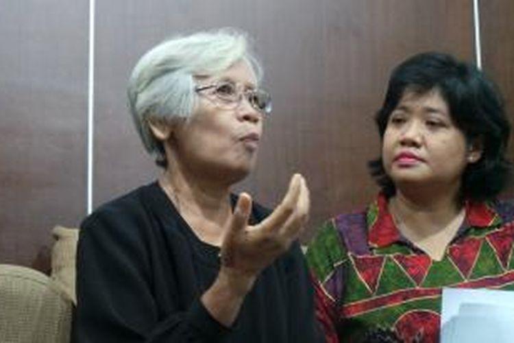 Sumarsih, ibu dari BR Norman Irawan atau Wawan yang tewas dalam Tragedi Semanggi I.