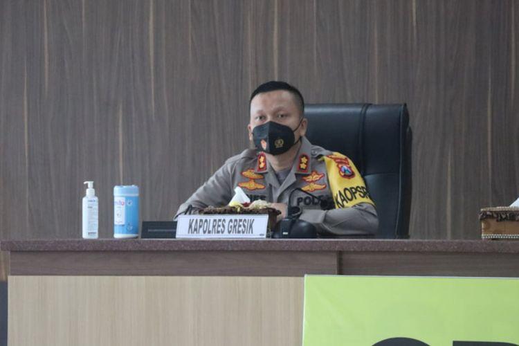 Kapolres Gresik AKBP Arief Fitrianto.