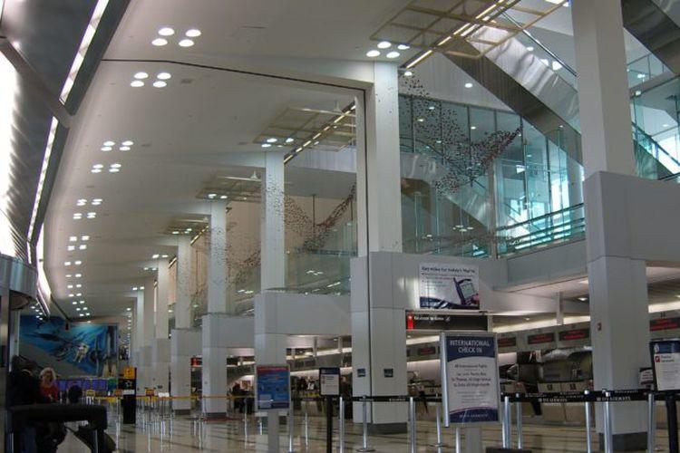 Bandara Internasional Philadelphia, Amerika Serikat.