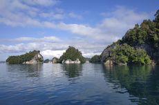 Bentang Alam Perairan di Papua