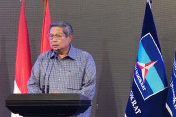 Ketua Umum DPP Partai Demokrat Susilo Bambang Yudhoyono