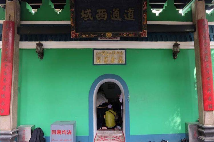 Makam Abu Waqqas di Guangzhou.