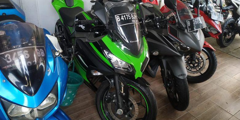 Harga Motor Sport Full Fairing 150 Cc Bekas Cbr Masih Paling Mahal