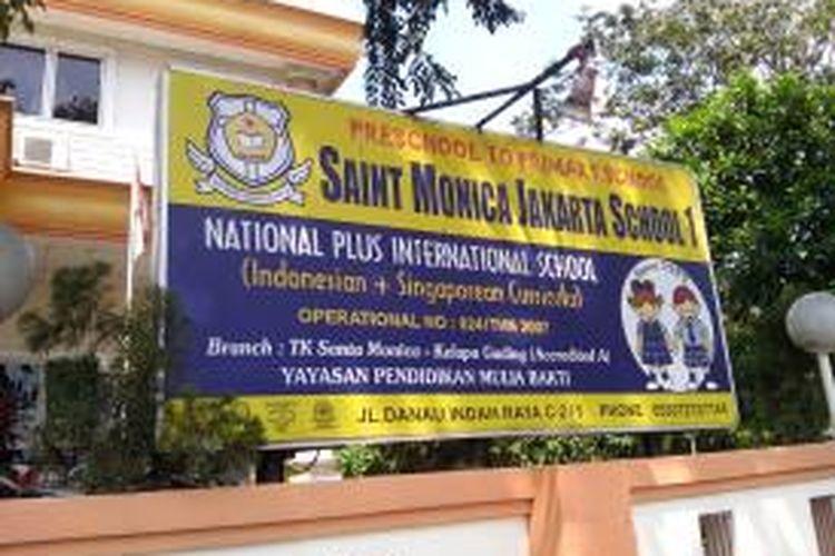 Sekolah Saint Monica, Sunter, Jakarta Utara