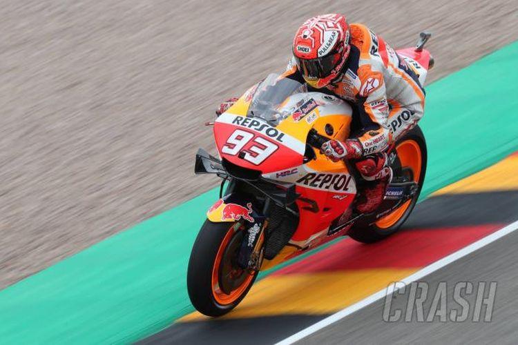 Marc Marquez di FP3 MotoGP Jerman