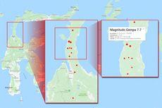 Gempa Donggala dan Tsunami Palu Picu Penurunan Tanah hingga 1,5 Meter