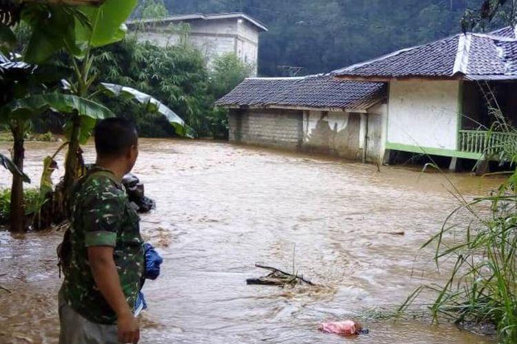 Ilustrasi bencana banjir bandang di Cianjur, beberapa waktu lalu