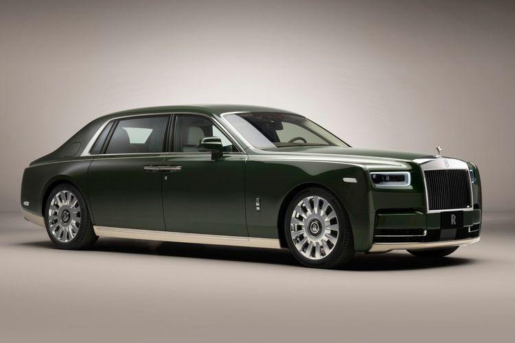 Hermes x Rolls-Royce Bespoke Phantom Oribe Yusaku Maezawa