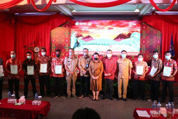 Hingga 2021, Kanwil BPN Provinsi Kalimantan Barat Catat Total Lakukan Pendaftaran 105.071 Bidang Tanah