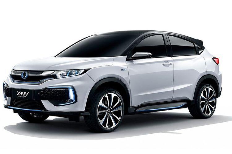Honda XN-V mobil listrik garapan Dongfeng Honda dikenalkan di Shanghai Auto Show 2019