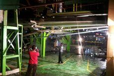 Mesin di Pabrik Gula Meledak, Tiga Karyawan Luka-luka