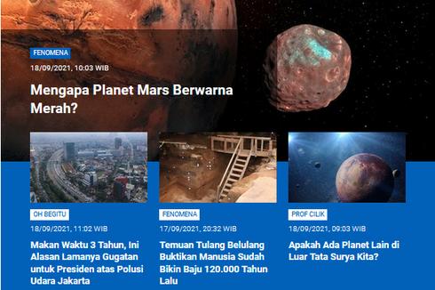 [POPULER SAINS] Alasan Planet Mars Berwarna Merah   120.000 Tahun Lalu Manusia Sudah Bikin Baju