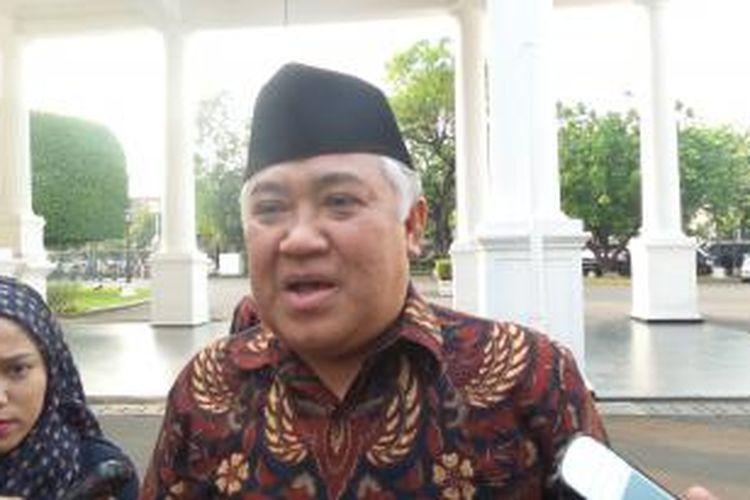 Din Syamsuddin sewaktu menjabat Ketua Umum PP Muhammadiyah