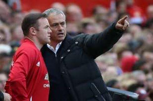 Mourinho Nantikan Gol Pemecah Rekor dari Rooney