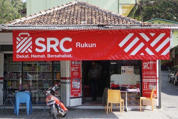 Toko kelontong SRC Rukung milik Purwanto (40) yang ada di kawasan wisata Parangtritis