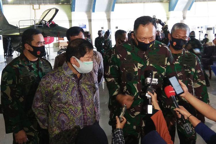 2 pesawat temur tersebut diserahkan dari Kepala Staff Angkatan Udara Kasau Marsekal TNI AU Fadjar Prasetyo kepada Danlanud Iswahjudi Marsekal Pertama TNI Widyango Ikoputra di hanggar skadron 3 Lanud Iswahyudi Kabupaten Magetan.