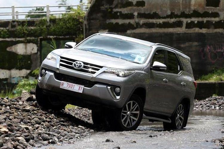 Toyota Fortuner menjadi motor penggerak pertumbuhan positif Toyota.