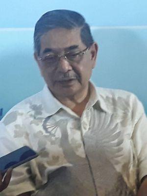 Kepala Lembaga Biologi Molekuler (LBM) Eijkman, Amin Soebandrio, dalam sebuah diskusi di kawasan Menteng, Jakarta Pusat, Minggu (8/3/2020).
