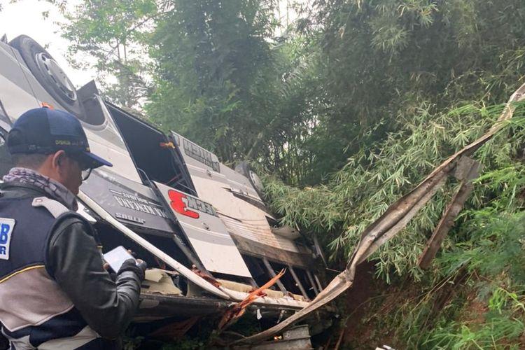 Kecelakaan Bus Pariwisata di Sumedang, Jawa Barat