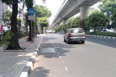 Cegah Jalur Sepeda Diserobot Kendaraan, DKI Akan Pasang Pembatas Beton